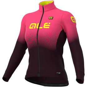 Alé Cycling PR-S Onda Micro Maillot Mujer, prune-fluo pink